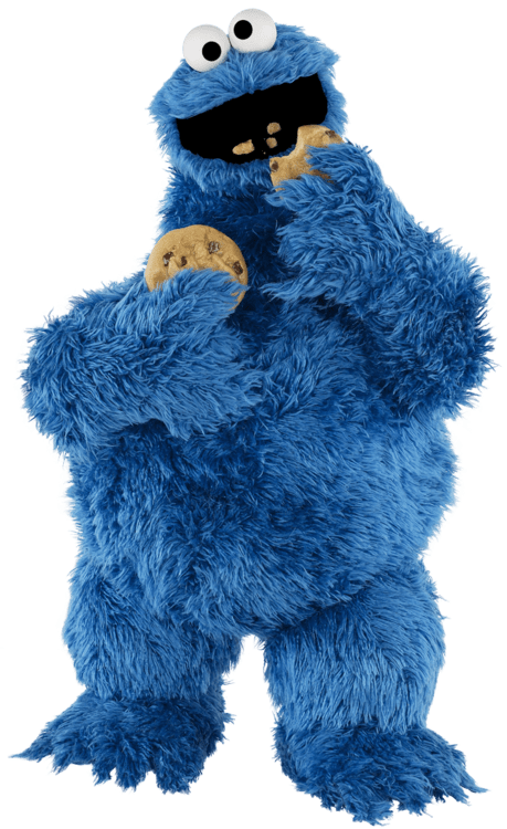 Cookie Monster Transparent PNG Sticker - Cookie Monster PNG HD