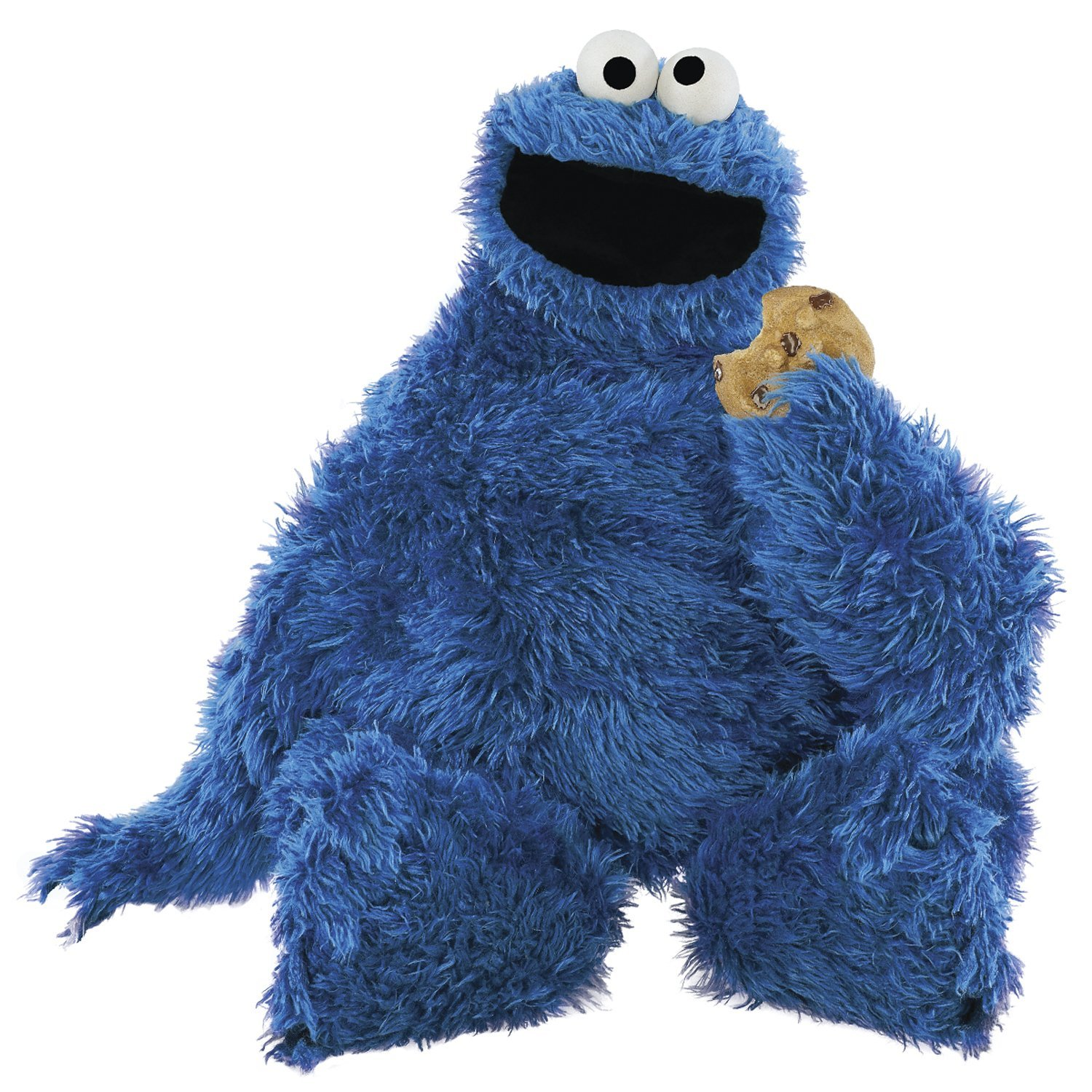 RoomMates RMK1483GM Sesame Street Cookie Monster Giant Peel u0026 Stick Wall  Decal - Childrens Wall Decor - Amazon pluspng.com - Cookie Monster PNG HD