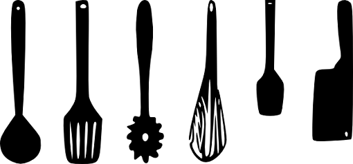 The cooking tools you use can make a BIG difference in cooking efficiency,  cleanliness and safety. - Cooking Tools PNG