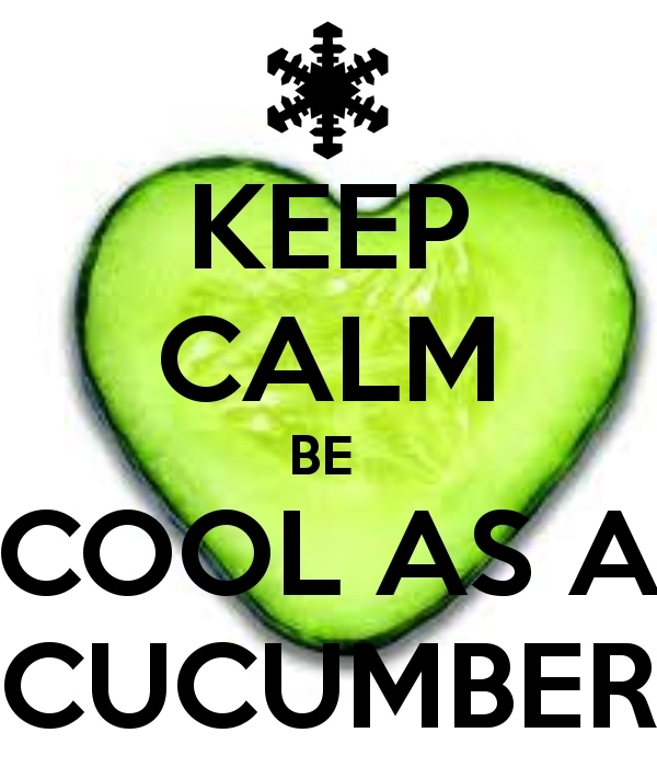 Cool As A Cucumber PNG-PlusPNG.com-600 - Cool As A Cucumber PNG