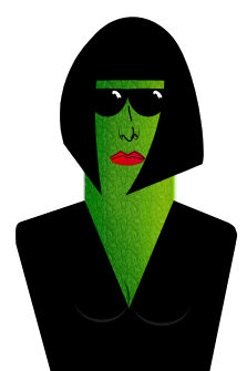 File:Female cool as a cucumber.PNG - Cool As A Cucumber PNG