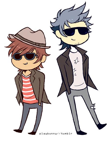 Cool Boys By Harumi-Chan PlusPng.com  - Cool Kid PNG