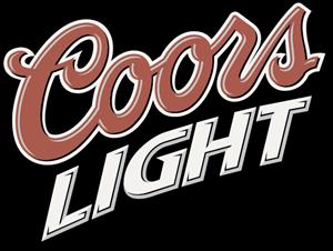 Coors Light Slant Logo Vector - Coors Light Logo PNG