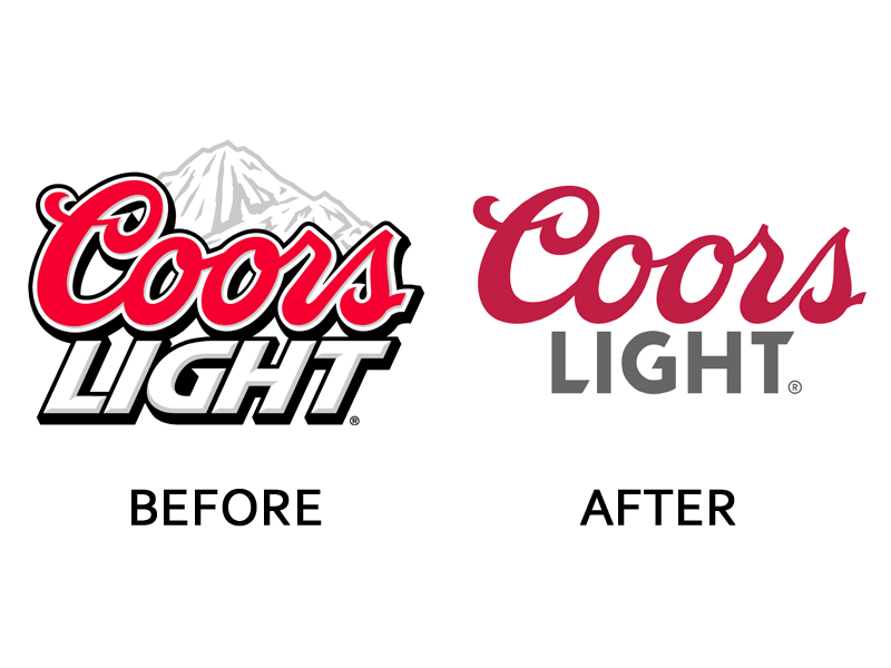 Coors Light Logo Change - Coors Light Logo Vector PNG