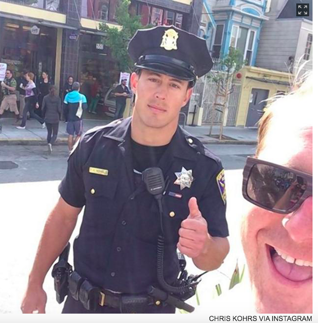 FAMOUS POLICE OFFICER ARRESTED FOR HIT AND RUN IN SAN FRANCISCO! FROM NY  DAILY NEWS - Cop Arresting Someone PNG