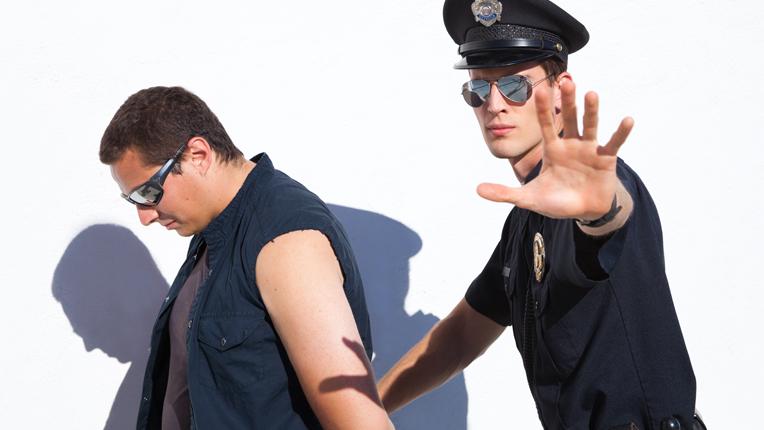 Cop Arresting Someone PNG