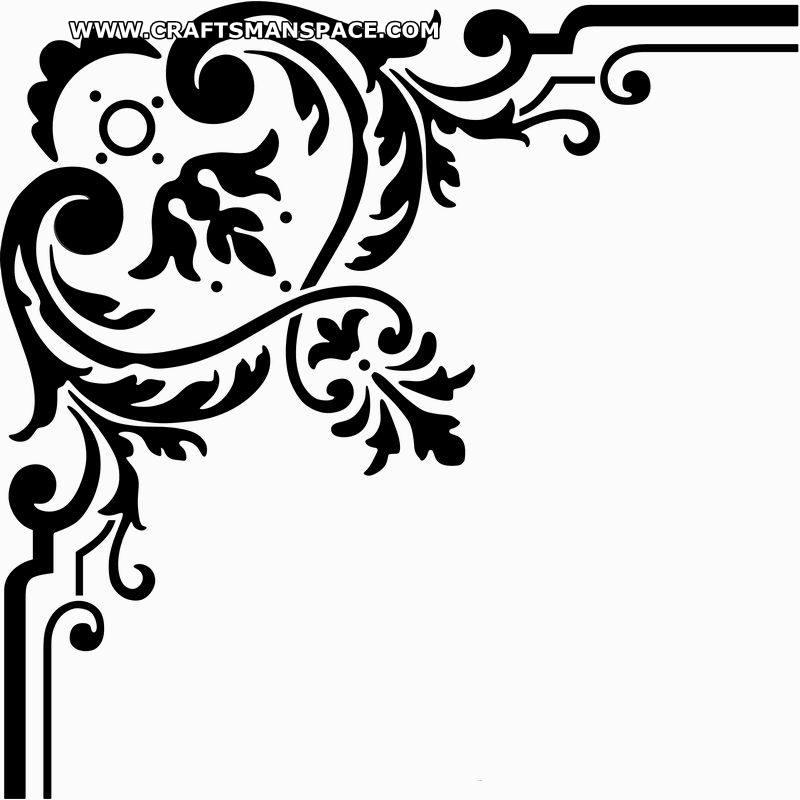 Corner Design PNG - 164852