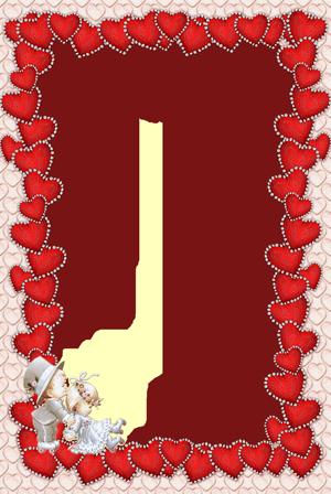 Cornici Cuori PNG - 135343