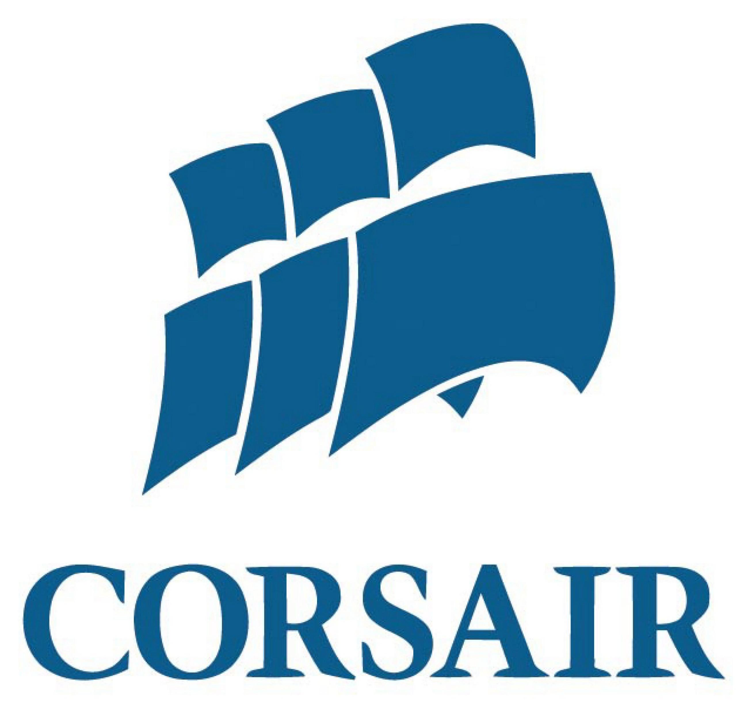 Founded in 1994, Corsair is a manufacturer of award-winning products  including DDR3 memory upgrades, USB flash drives, power supply units,  solid-state PlusPng.com  - Corsair Logo PNG