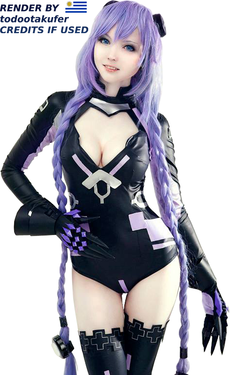 Purple Heart Cosplay - Cosplay PNG
