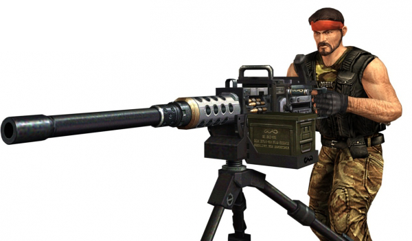 File:Guerilla operative m2.png - Counter Strike HD PNG