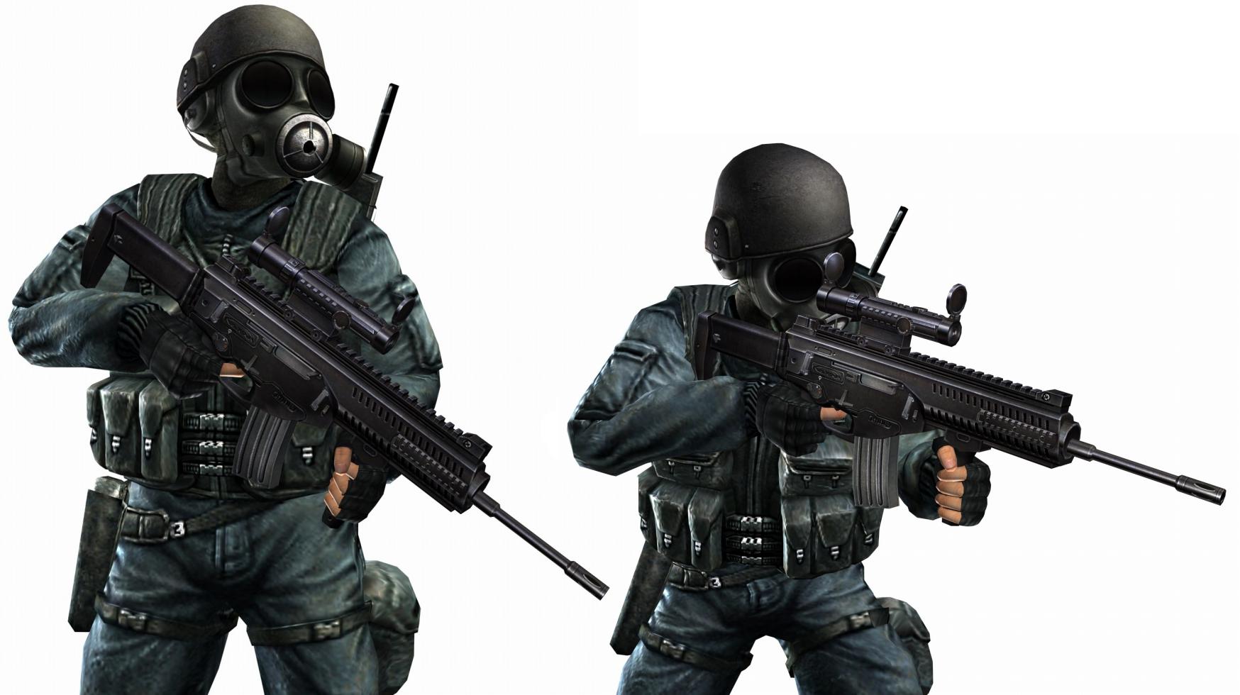 Sas warx-160.png - Counter Strike HD PNG