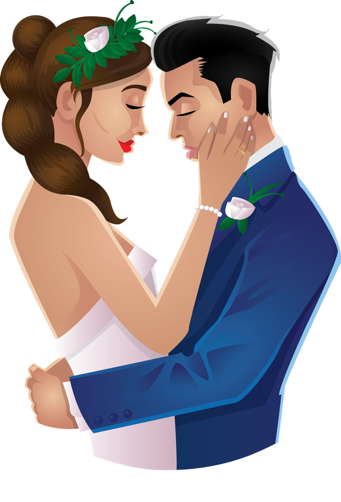 Beautiful couple clipart hd - Couple PNG HD