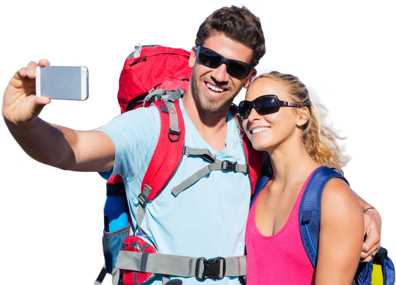 Couple Traveling Png Image - Couple PNG HD