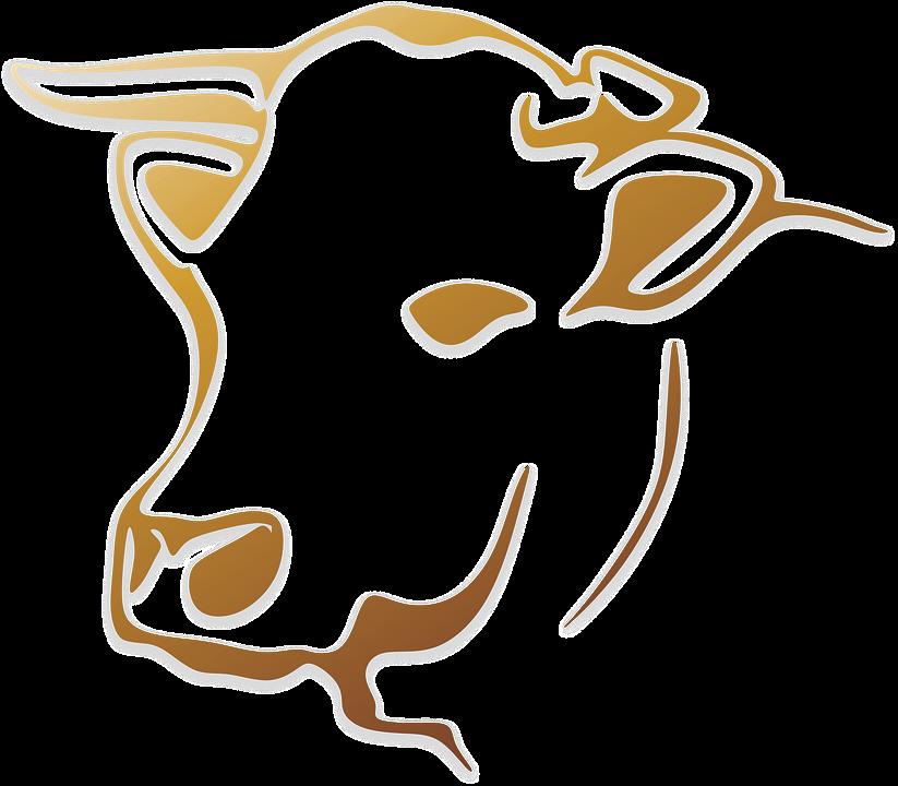 cow cattle animal farm logo - Cow Head PNG HD
