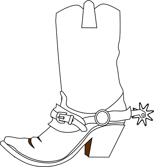 Free vector graphic: Cowboy Boots, Spurs, Boots - Free Image on Pixabay -  312183 - Cowboy Boots With Spurs PNG