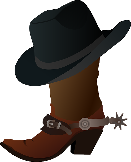 Free vector graphic: Spurs, Cowboy, Boots, Hat, Clothing - Free Image on  Pixabay - 154592 - Cowboy Boots With Spurs PNG