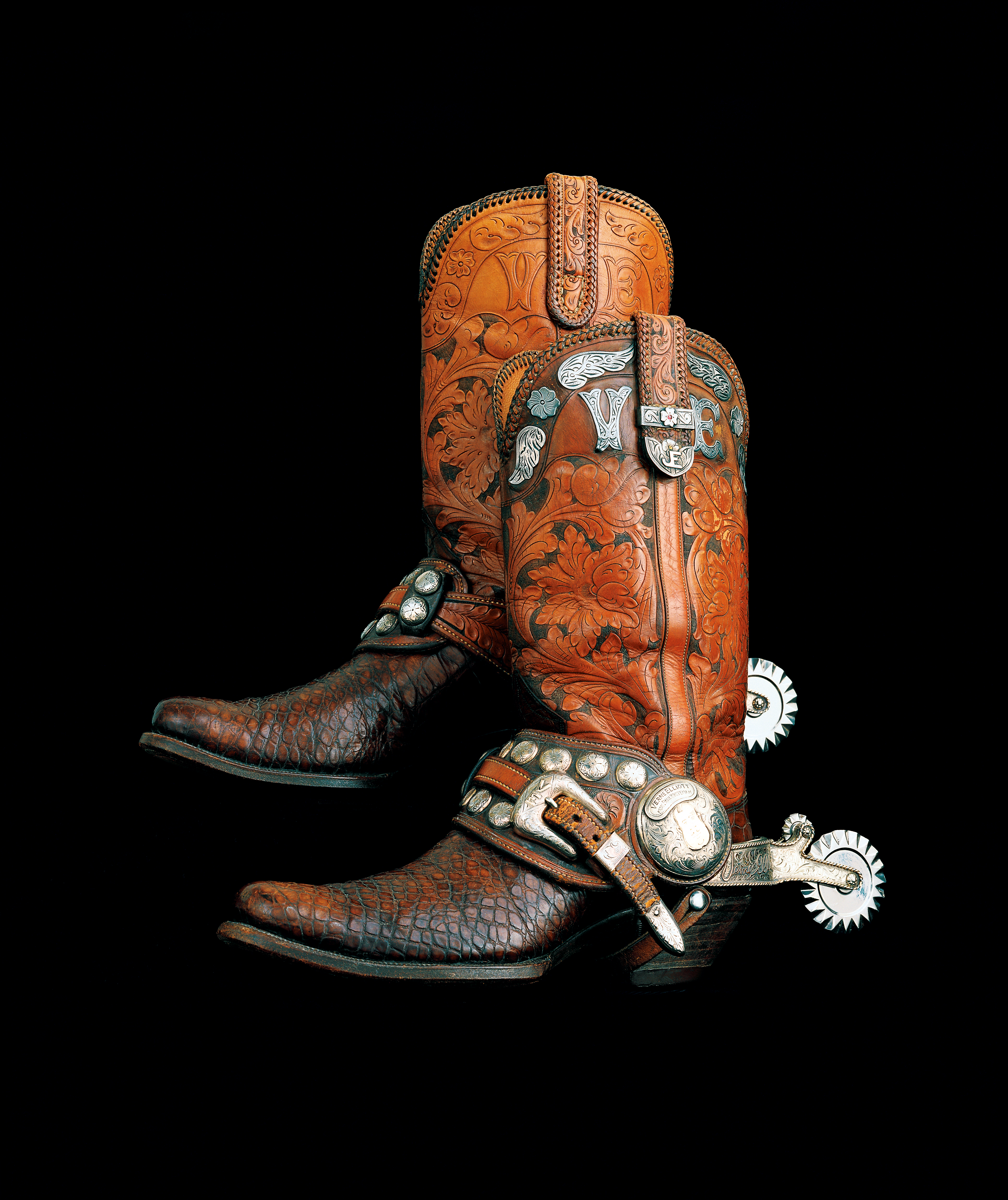 Photo Gallery - Cowboy Boots With Spurs PNG