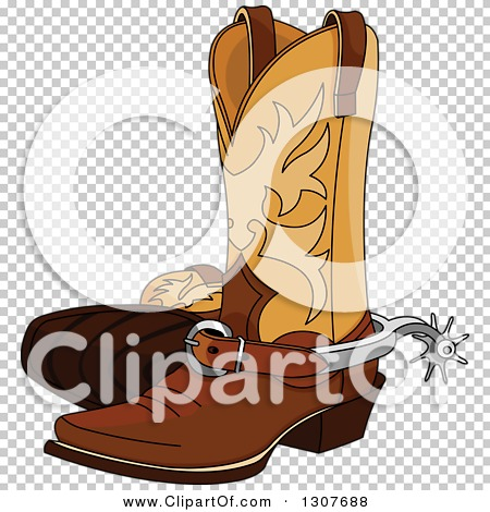 Rasters .jpg .png - Cowboy Boots With Spurs PNG