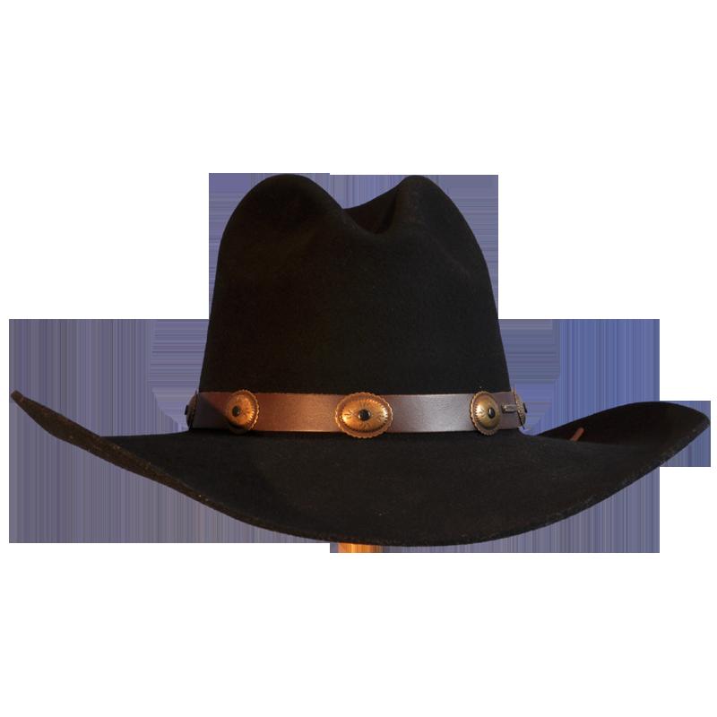 Cowboy Hat Png Black Wool Felt. - Cowboy Hat PNG