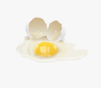 Cracked Egg PNG HD - 135659
