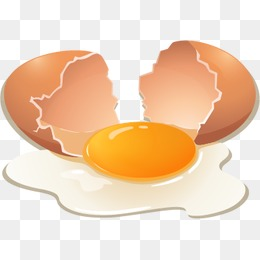 Cracked Egg PNG HD - 135668