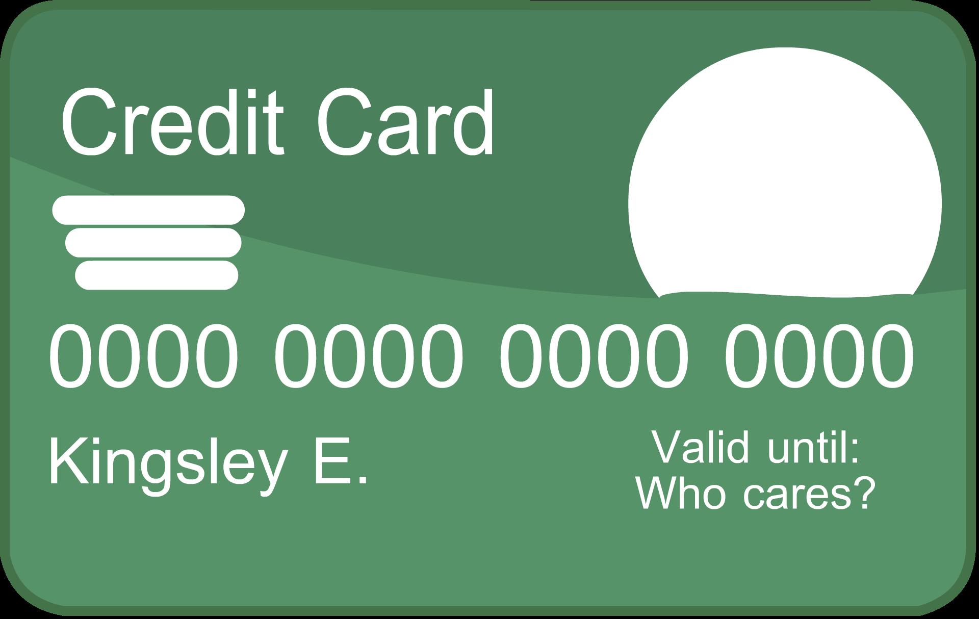 Credit Card PNG - 24314