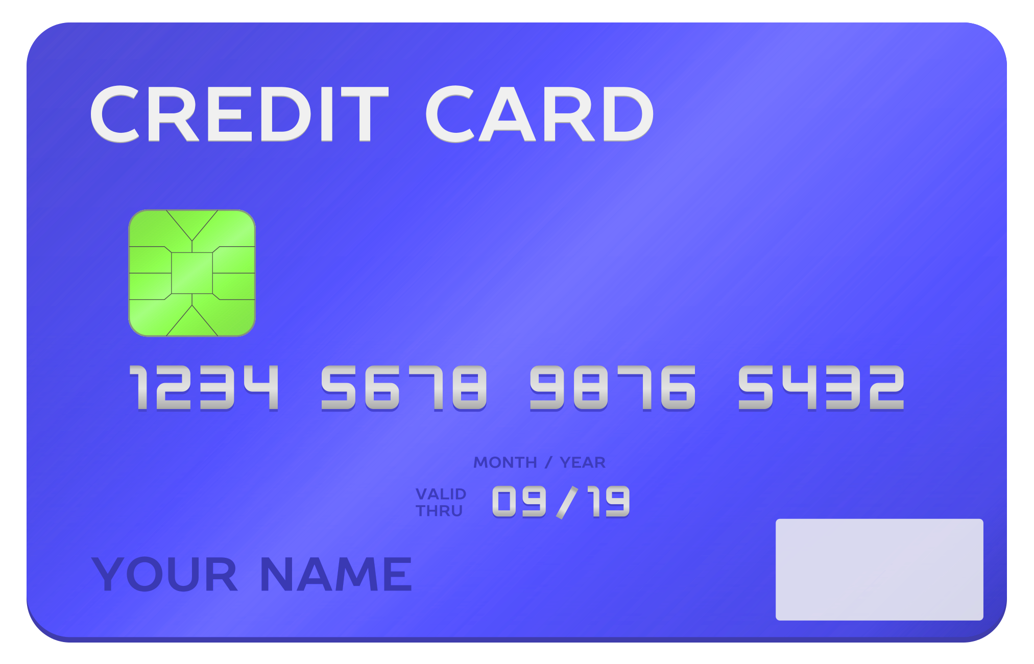 Credit Card PNG-PlusPNG.com-2025 - Credit Card PNG
