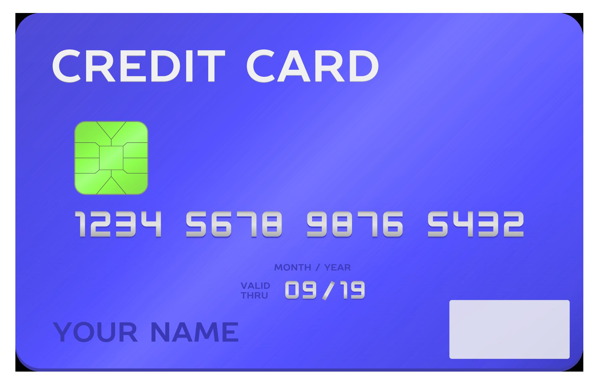 Credit Card PNG - 24318