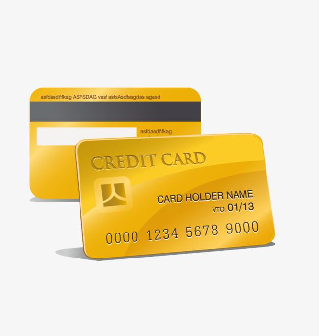 Credit Card PNG HD - 137732