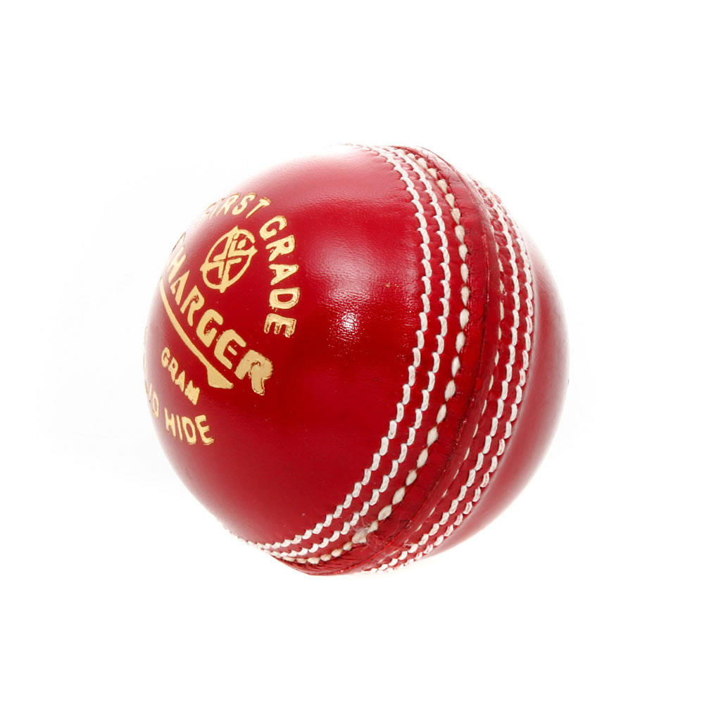 Gillespie Charger 2-Piece 142gm Practice Grade Cricket Ball - Red - Cricket Ball PNG HD