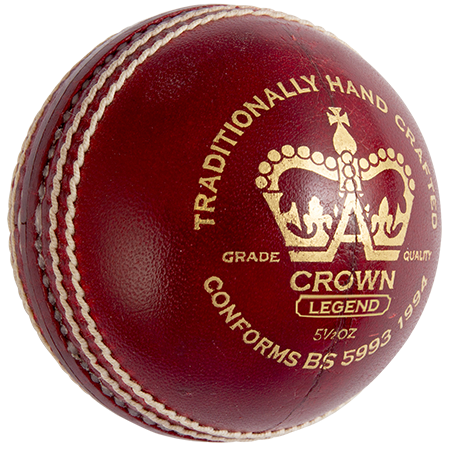 Gray-Nicolls Cricket Crown Legend Red Front - PNG Cricket Ball - Cricket Ball PNG HD
