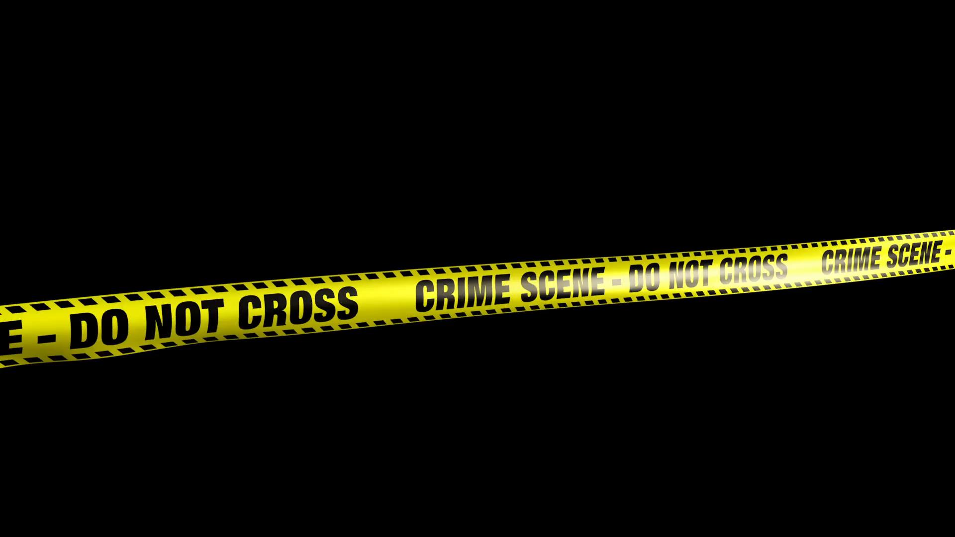 Crime Scene - Do Not Cross Yellow Caution Tape Motion Background -  VideoBlocks - Crime Scene PNG HD