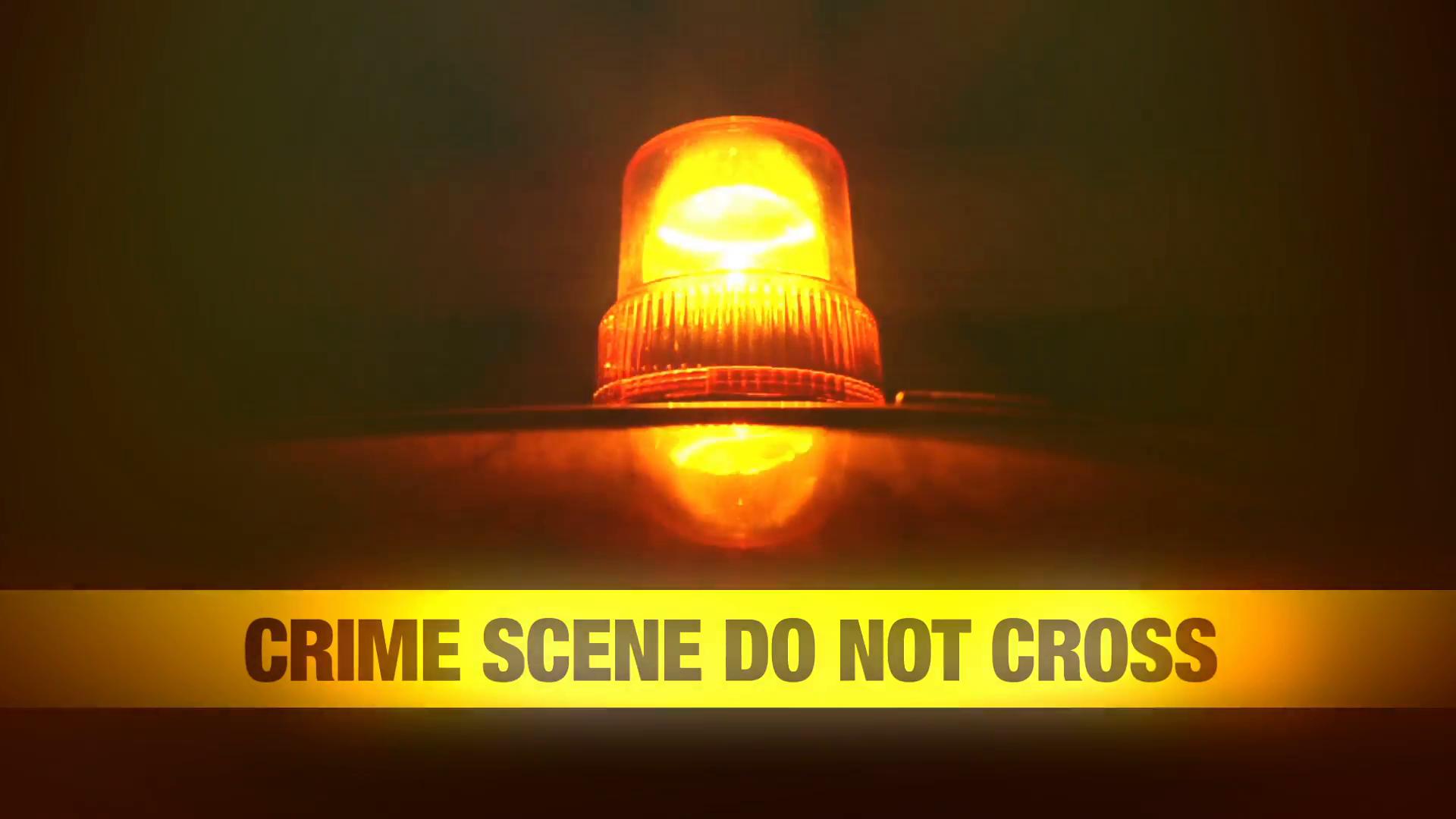 Crime Scene Do Not Cross Yellow Headband Tape and Orange flashing and  revolving light. Murder Scene Police Ribbon. 1920x1080 full hd footage. - Crime Scene PNG HD
