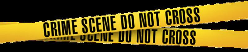 Crime Scene Tape Clip Art #7669 - Crime Scene PNG HD