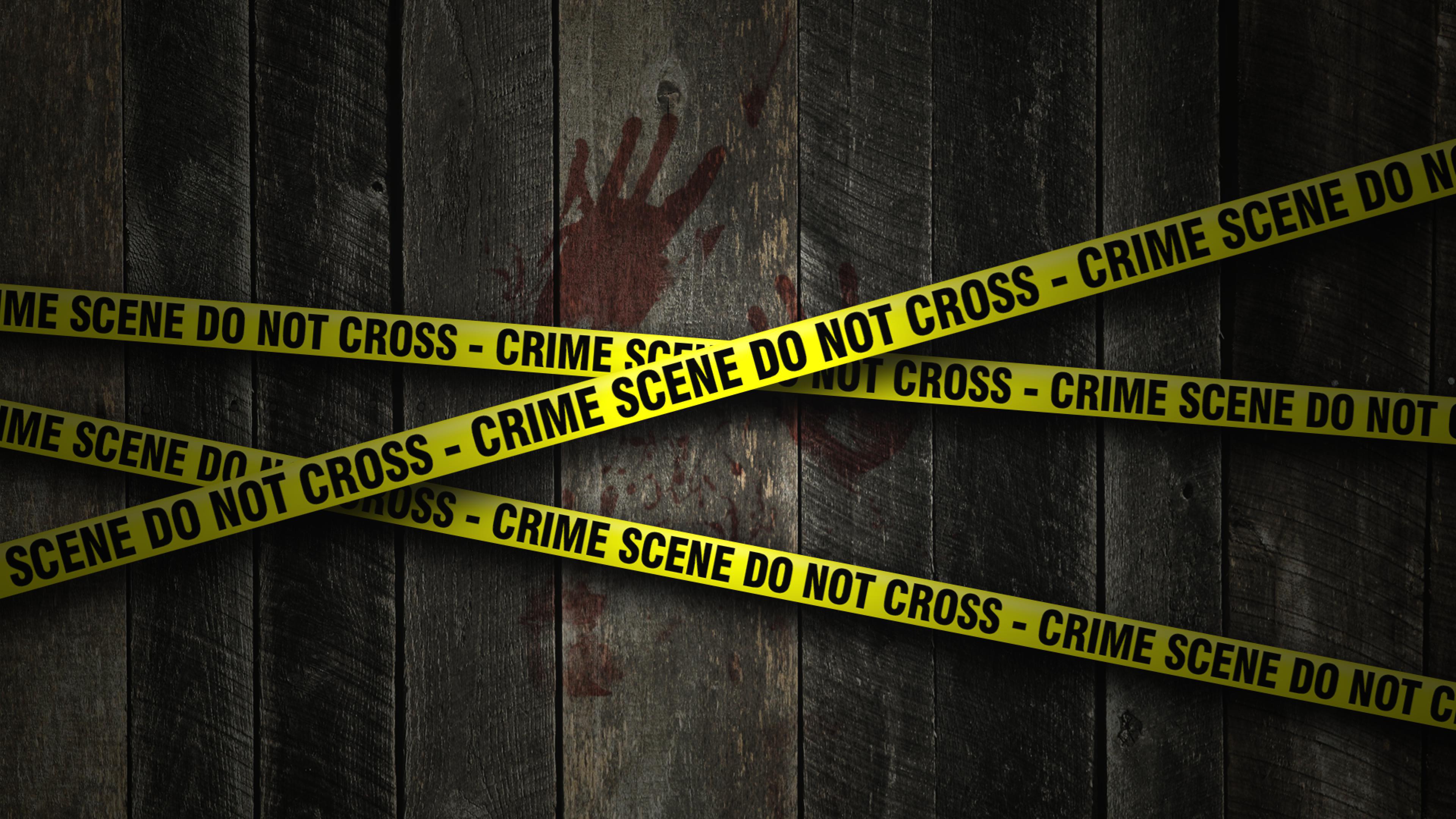 Crime scene yellow tape #1 - Crime Scene PNG HD