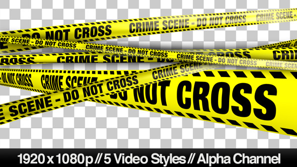 Play preview video - Crime Scene PNG HD