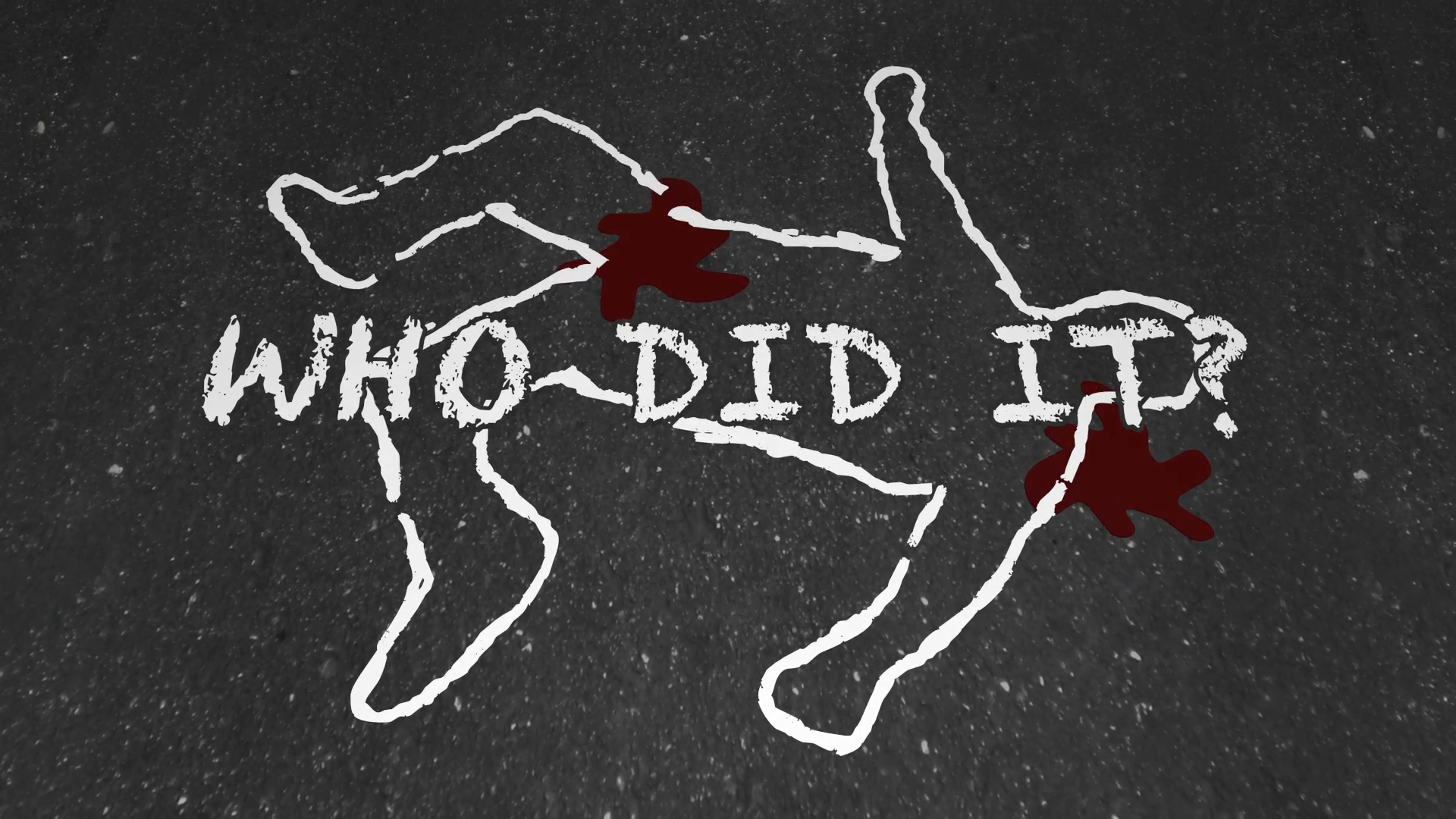Who Did It Murder Crime Scene Suspect Chalk Outline Animation Motion  Background - VideoBlocks - Crime Scene PNG HD