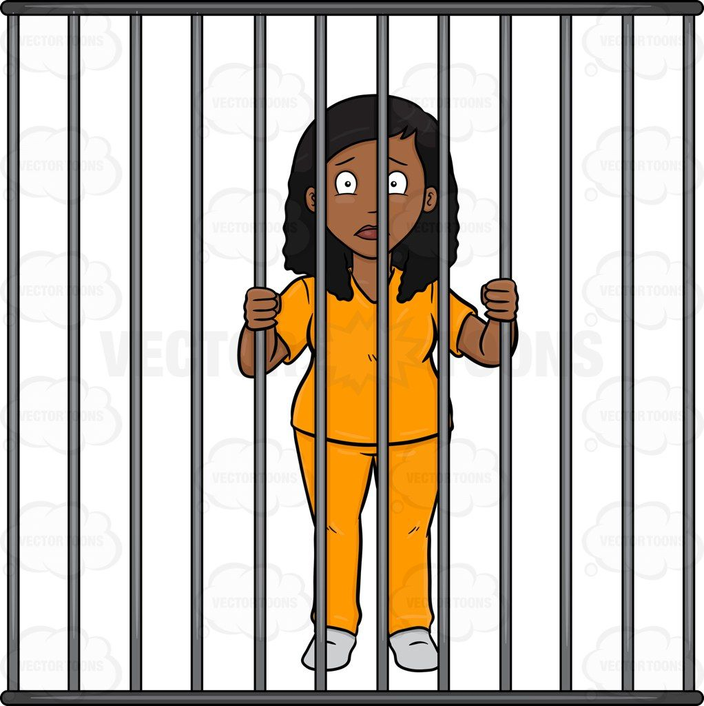 woman in jail gif