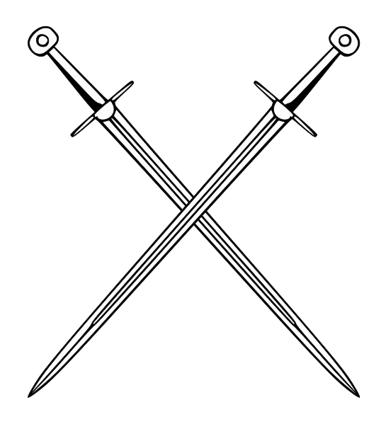 Crossed Swords PNG HD