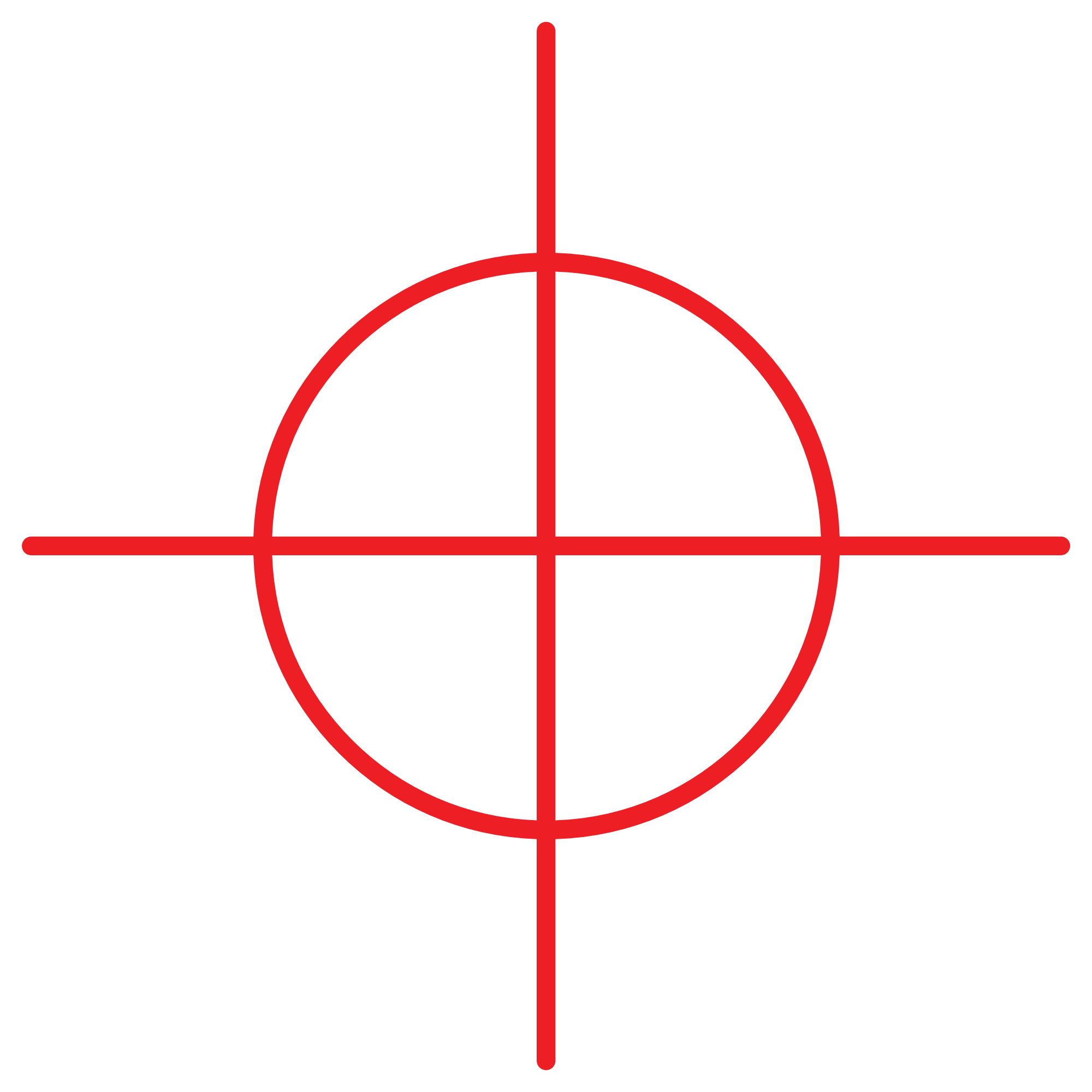 Crosshair PNG Transparent Image - Target PNG