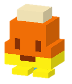File:Candy Corn.png - Crossy Road HD PNG