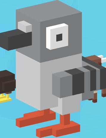 File:Poopy Pigeon.png - Crossy Road HD PNG