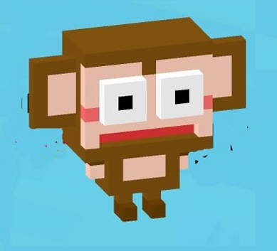 File:Red Monkey.png - Crossy Road HD PNG