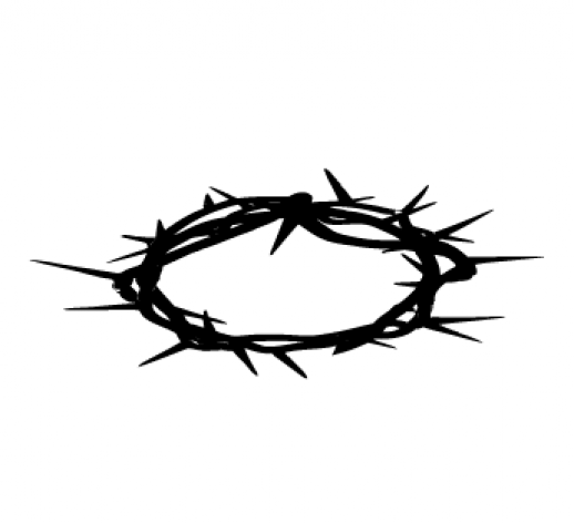Crown clipart jesus #1 - Crown Of Thorns PNG HD