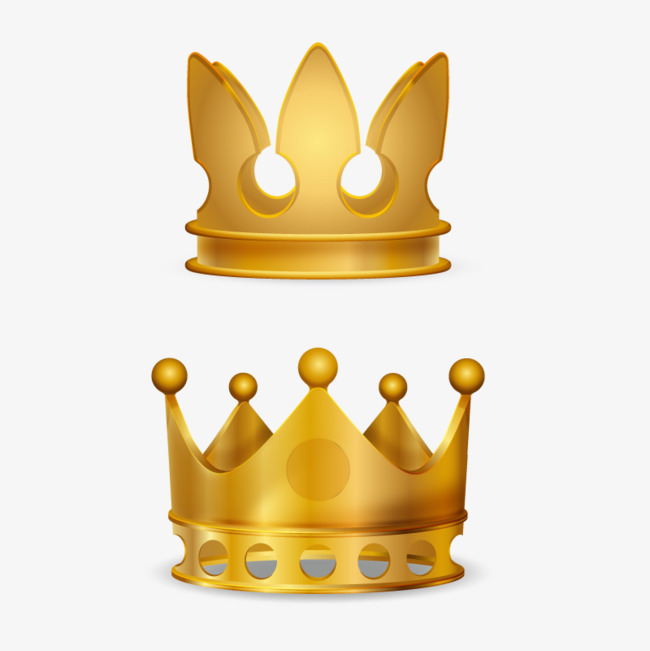 vector crown, Hd, Vector, Gold PNG and Vector - Crown PNG HD