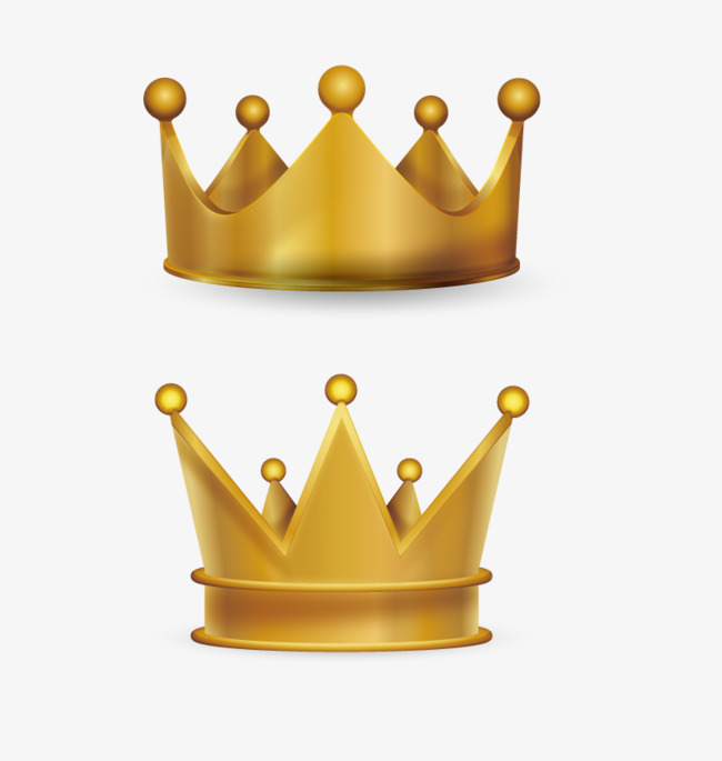 Vector noble crown, Hd, Vector, Golden PNG and Vector - Crown PNG HD