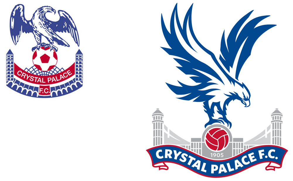 Crystal Palace revealed what is its ninth different club crest in its 108  year history, but its the first redesign since 1994. It was put to a vote  amongst PlusPng.com  - Crystal Palace Fc PNG