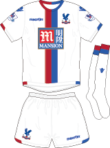 File:Crystal Palace F.C. 2015-16 Away.png - Crystal Palace Fc PNG