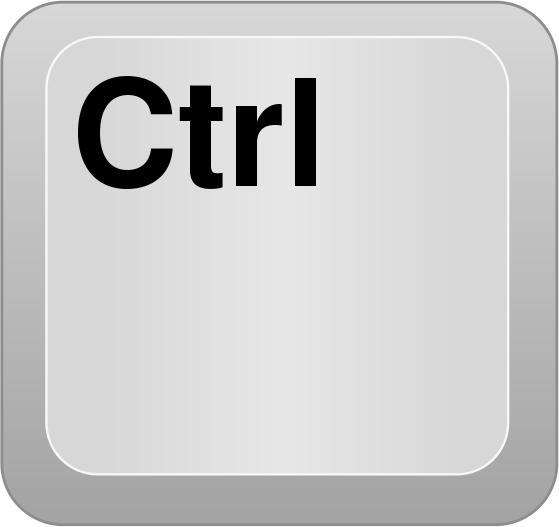 Ctrl Key PNG